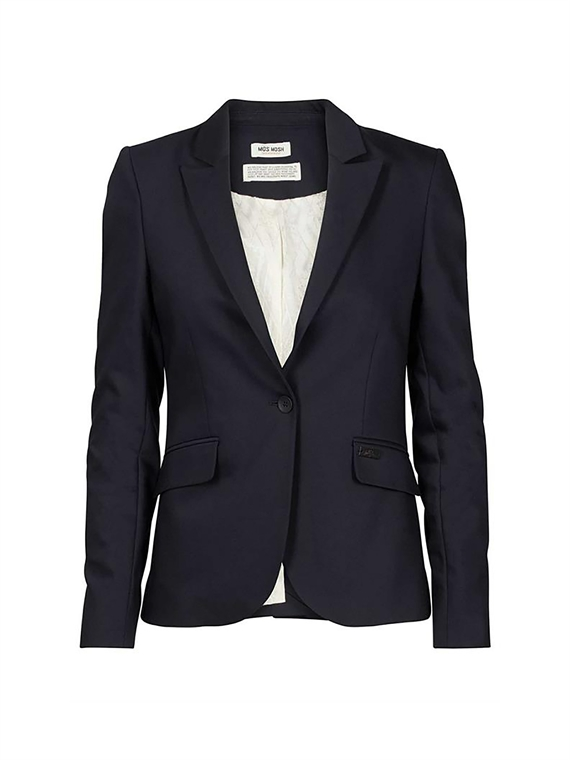 Image of   Mos Mosh Blazer - Blake Night Blå