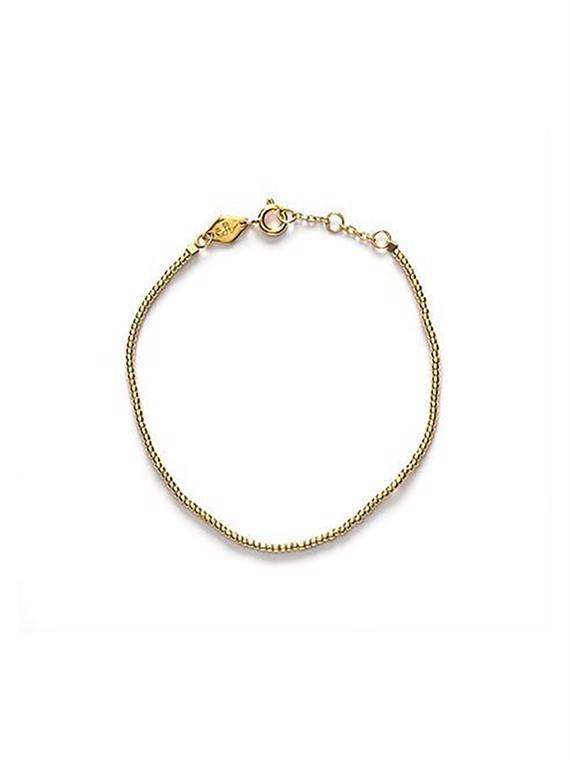 Image of   Anni Lu armbånd - Plain Bracelet Guld