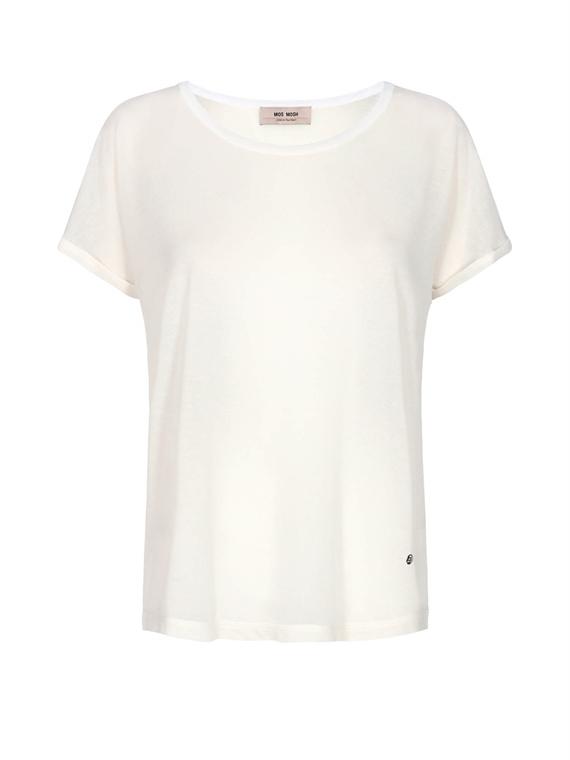 Image of   Mos Mosh T-Shirt - Kay Cremefarvet