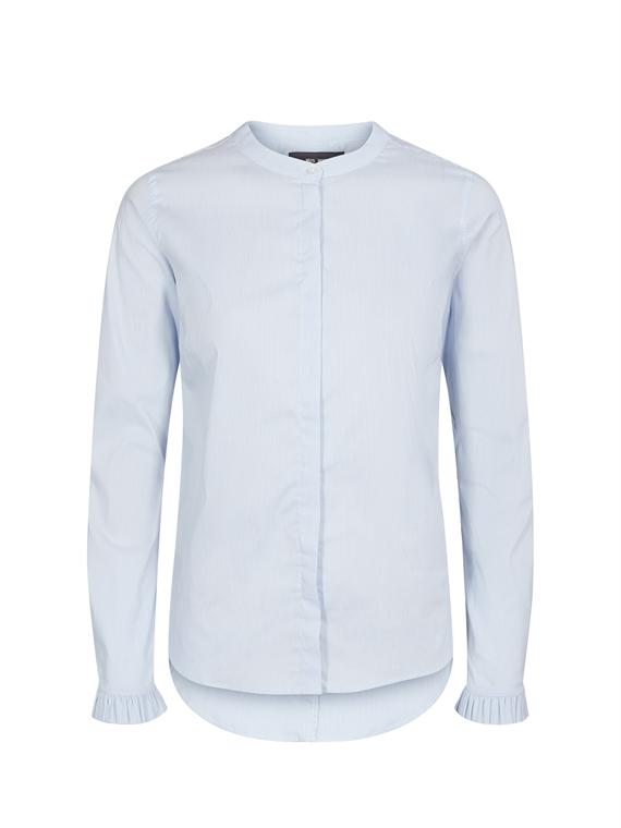 Image of   Mos Mosh Skjorte - Mattie Check blå