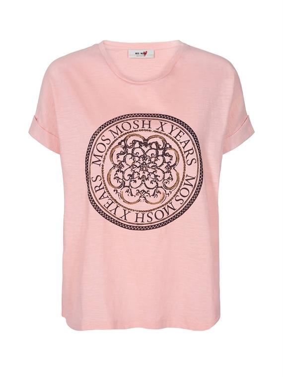 Image of   Mos Mosh T-Shirt - Yara Lyserød