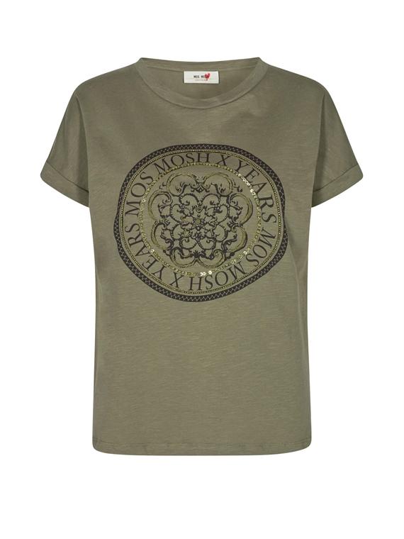 Image of   Mos Mosh T-Shirt - Yara Grøn