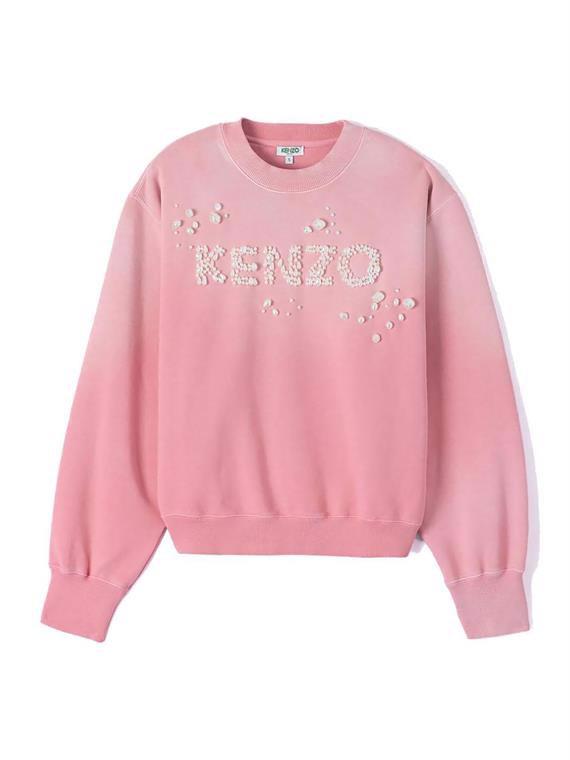 Image of   Kenzo Sweatshirt - Bubble Lyserød