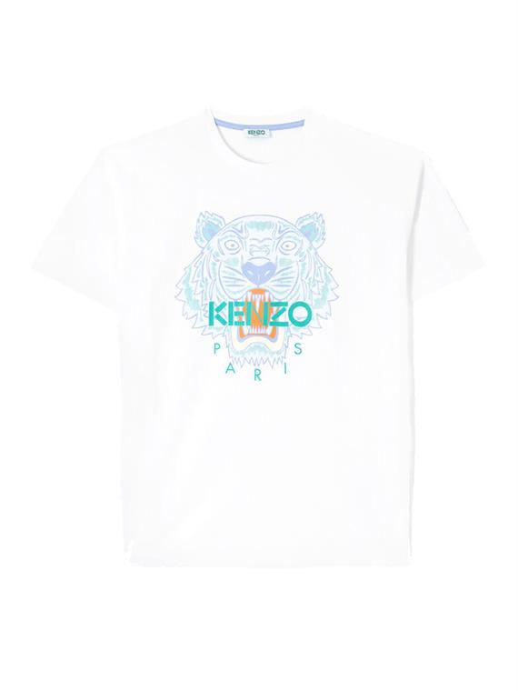 Image of   Kenzo T-Shirt - Tiger Hvid