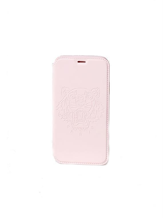 Image of   Kenzo Tiger iPhone 7 og 8 Folio Cover Faded Pink