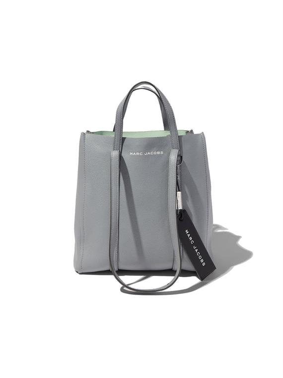 Image of   Marc Jacobs Taske - The Tag Tote 27 Grå