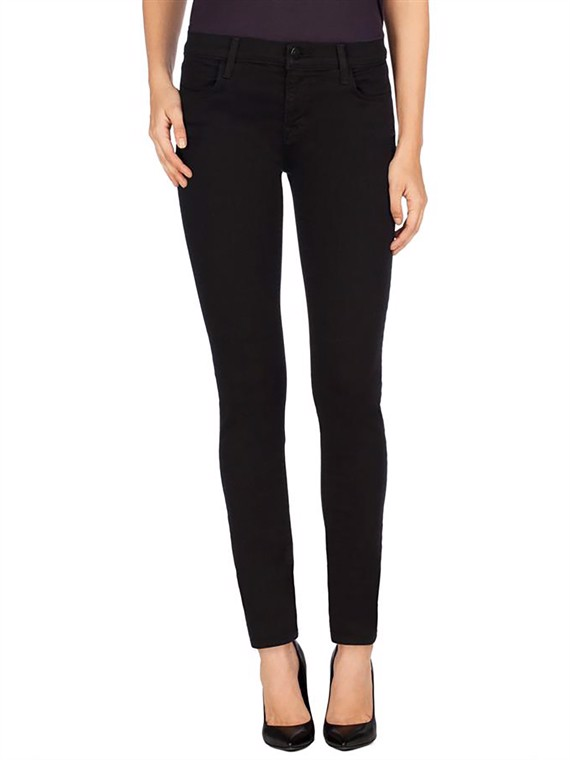 Image of   Jbrand Jeans - Maria Mid Rise Sort