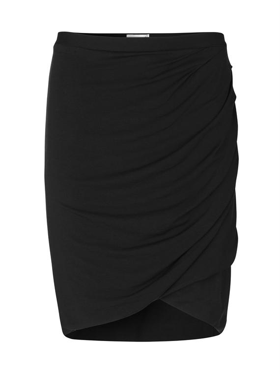 Image of   Rosemunde Nederdel - Stretch Skirt Sort