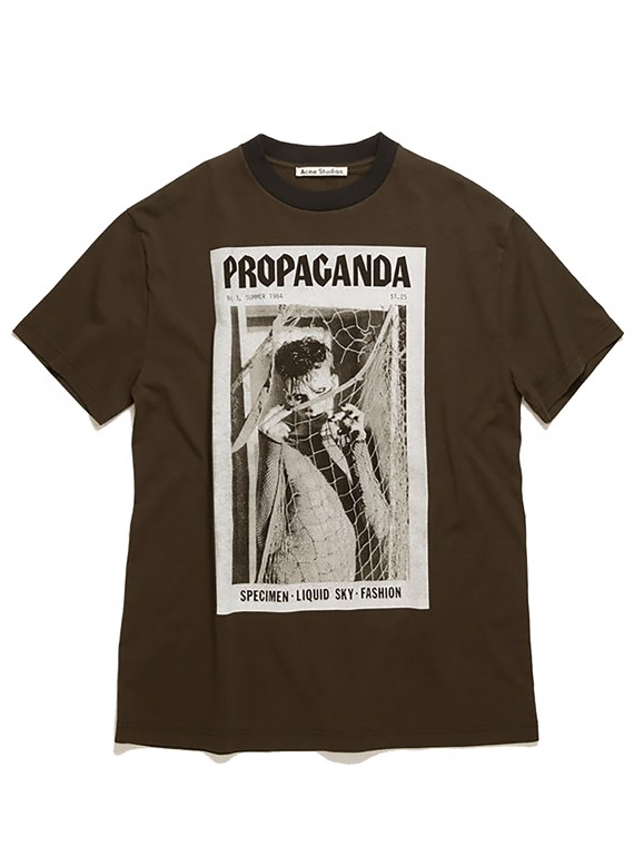 Image of   Acne Studios T-Shirt - Propaganda Vasket Sort
