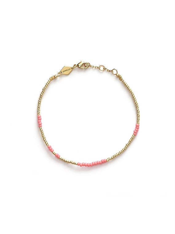 Image of   Anni Lu Armbånd - Asym Pink