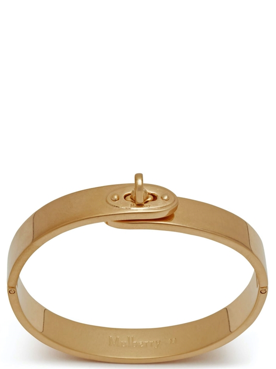 Image of   Mulberry Armbånd - Bayswater Metal Slim Guld