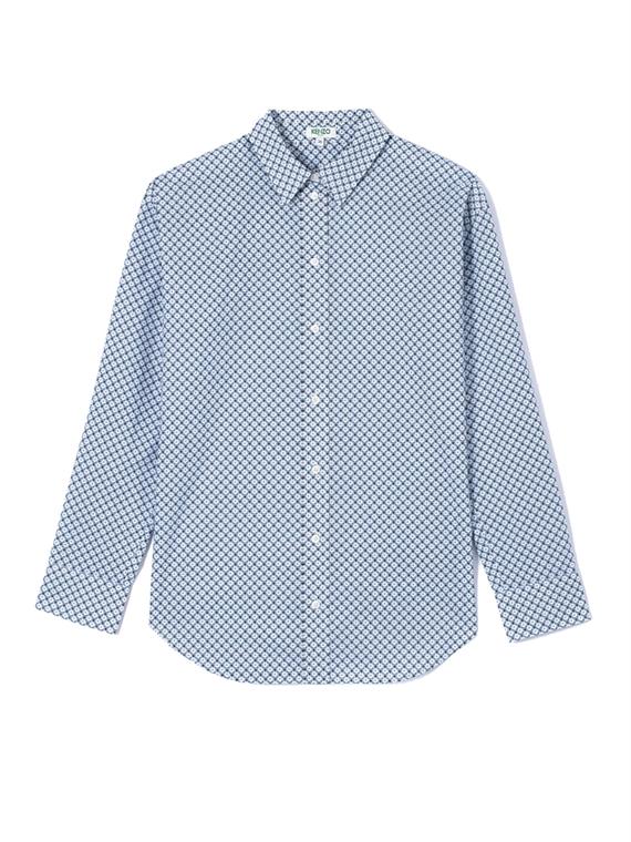 Image of   Kenzo Skjorte - Casual Fit Blå