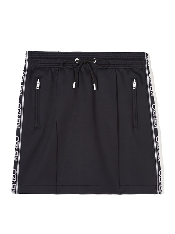 Image of   Kenzo Nederdel - Logo Skirt Sort