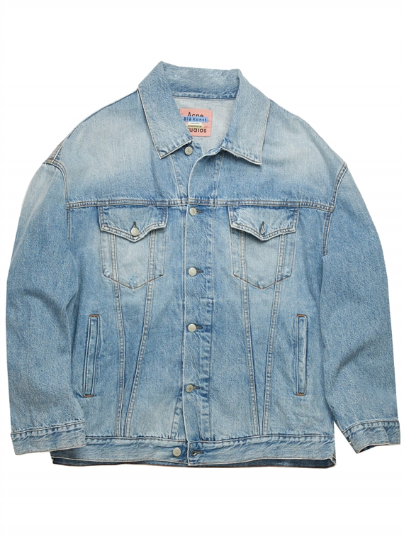 Image of   Acne Studio Denim Jakke - Morris Blå