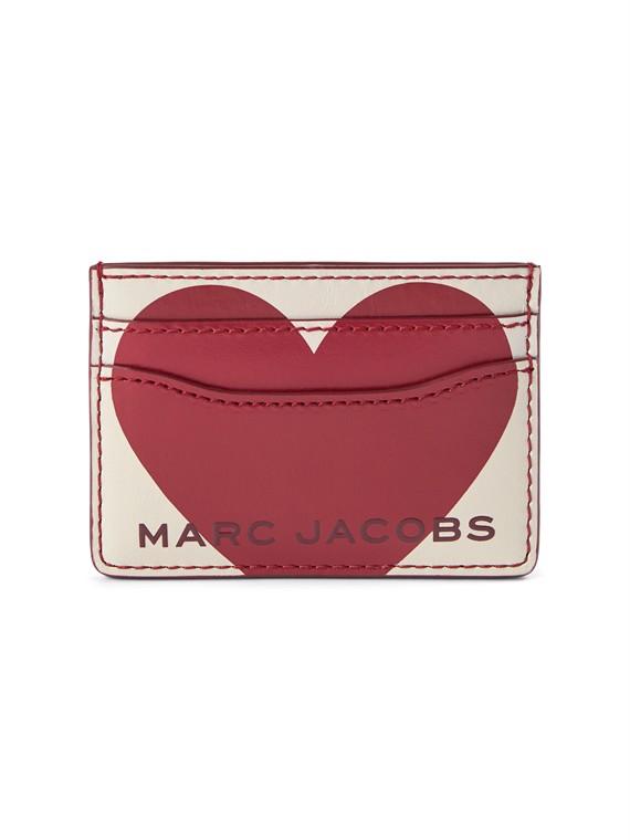Image of   Marc Jacobs Kortholder - Valentines Day Cremefarvet