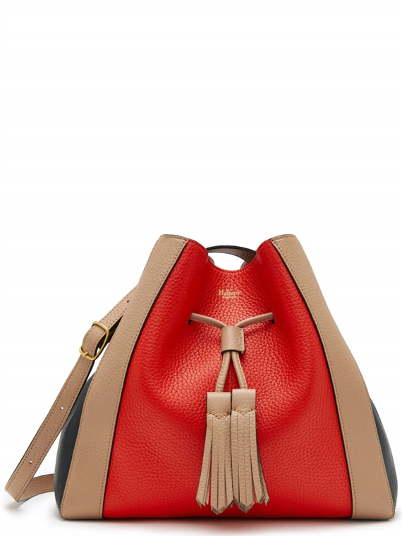 Image of   Mulberry Taske - Small Millie Tote Rød Multi