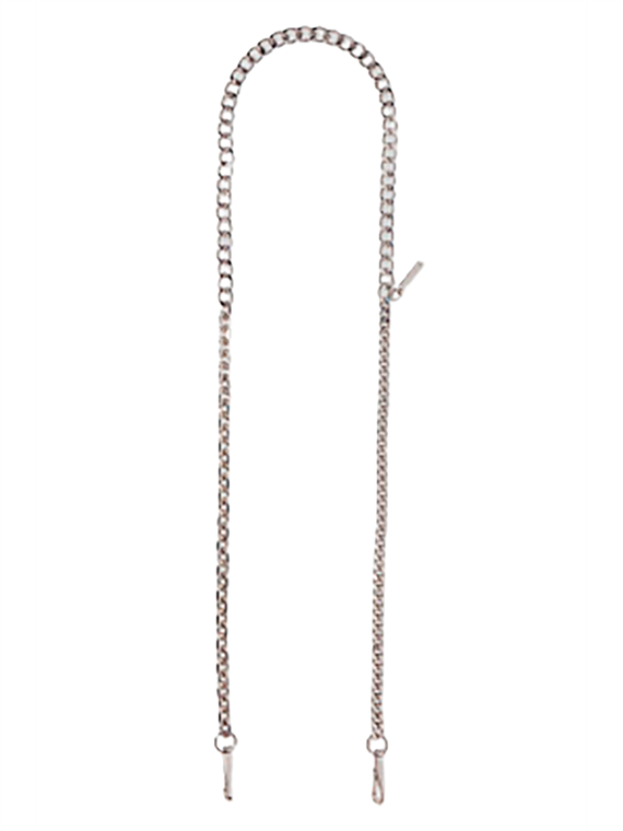 Image of   Marc Jacobs Taskerem - Chain Shoulder Strap Sølv