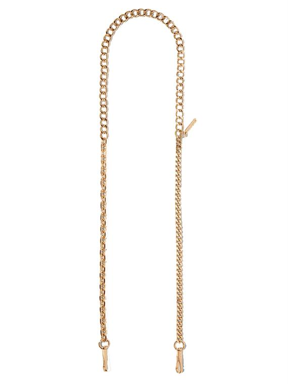 Image of   Marc Jacobs Taskerem - Chain Shoulder Strap Guld