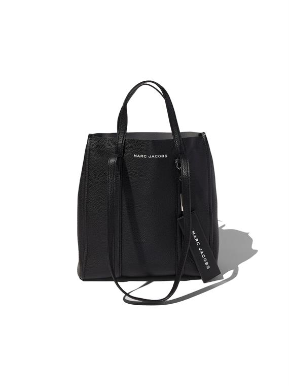 Image of   Marc Jacobs The Tag Tote 27 Black