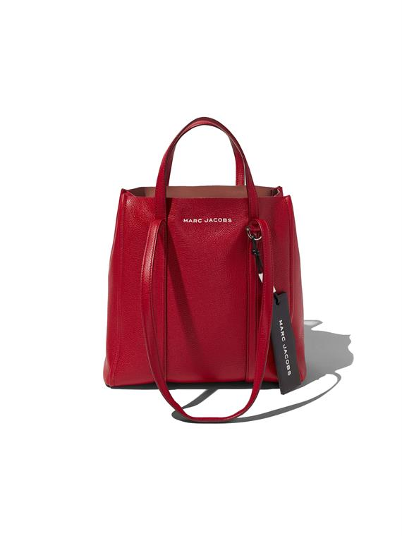 Image of   Marc Jacobs Taske - The Tag Tote 27 Rød