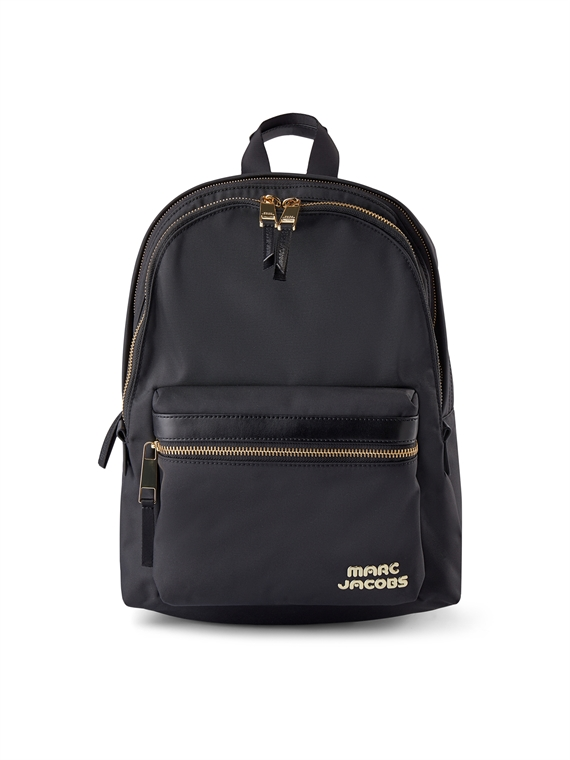 Image of   Marc Jacobs Rygsæk - Backpack sort/guld