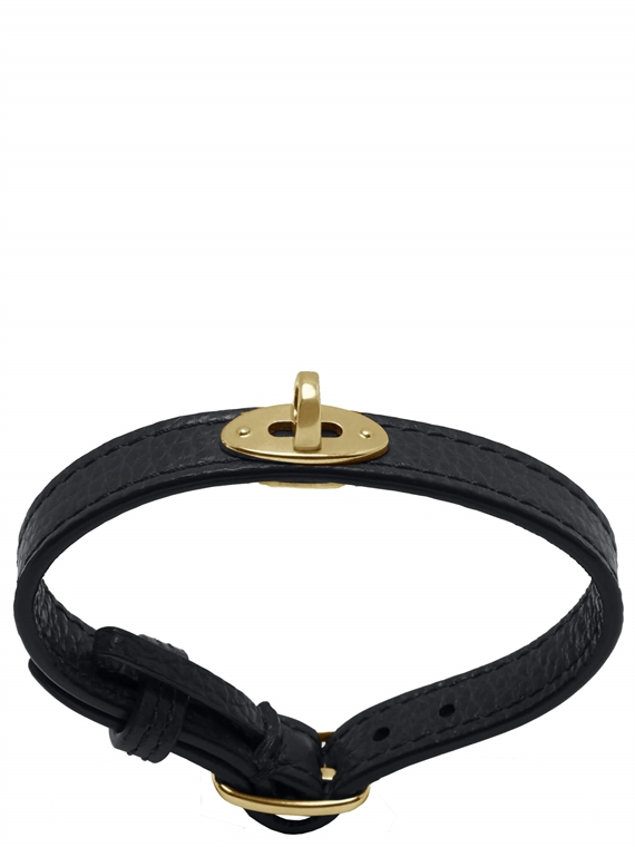 Image of   Mulberry Armbånd - Bayswater Sort/Guld