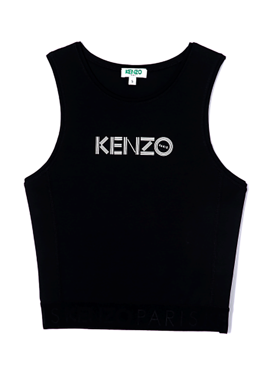 Image of   Kenzo Top - Logo Sort