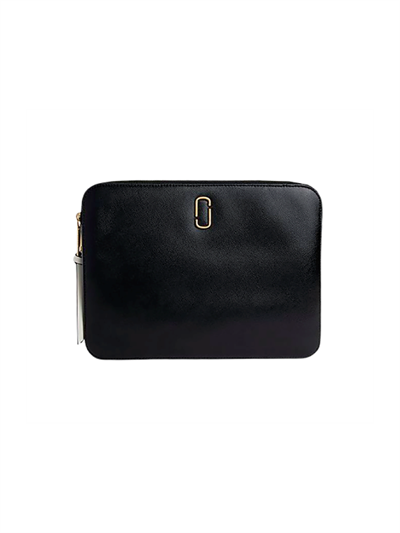"Image of   Marc Jacobs Computertaske - 13"" Sort/Guld"