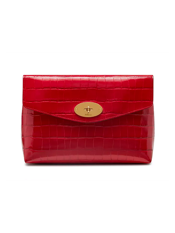 Image of   Mulberry Clutch - Large Darley Rød