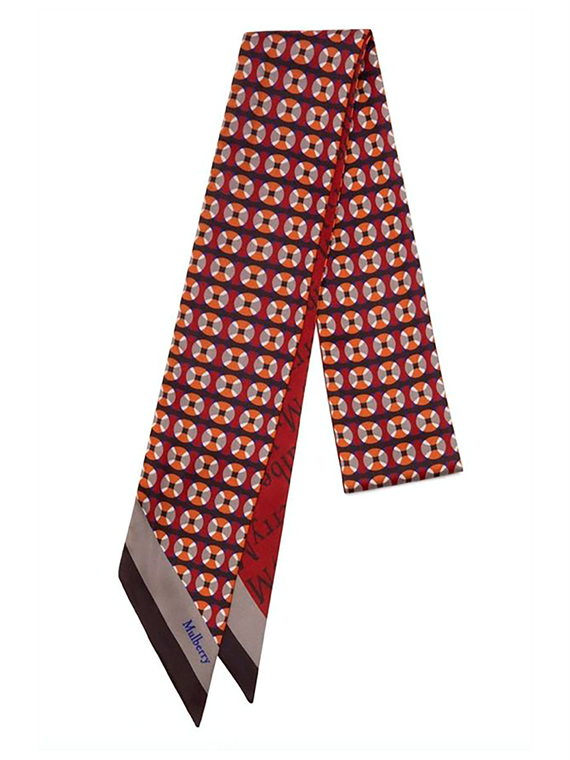 Image of   Mulberry Tørklæde - Bag Scarf Multi