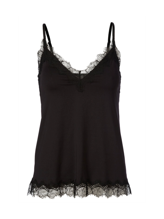 Image of   Rosemunde Top - Strap Vintage Sort