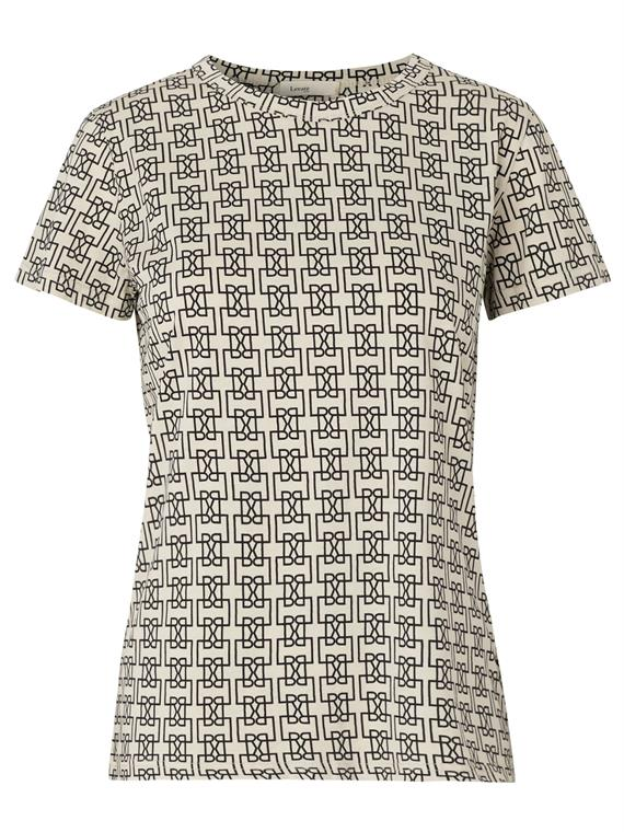 Image of   Levete Room T-Shirt - Camry 5 Sort/Sand