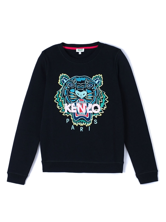 Image of   Kenzo Sweatshirt - Tiger Sort