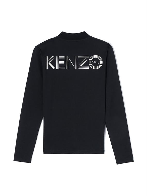 Image of   Kenzo Trøje - Sport Fitted Jacket Sort