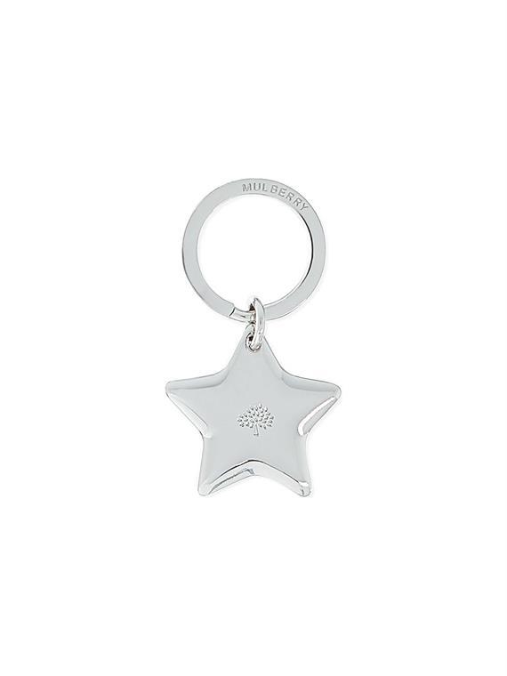 Image of   Mulberry Nøglering - Star Sølv