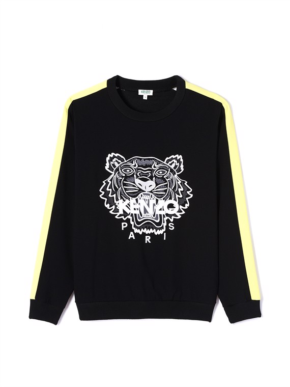 Image of   Kenzo Bluse - Crepe Tiger Top Sort