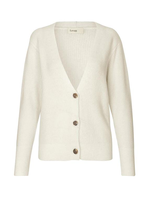 Image of   Levete Room Cardigan - Cille Hvid